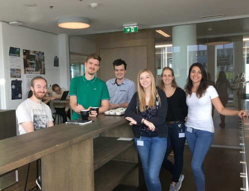 Our summer students Elise and Pauline treated us to home-made Muffins – looking forward to having Pauline back in the lab for her Master thesis!